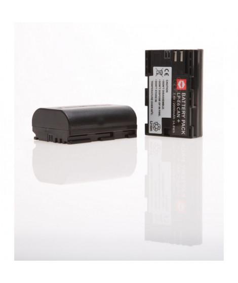 MP EXTRA  WE-KLQJ-OOFG  Pack de 2 batteries LPE6 pour CANON