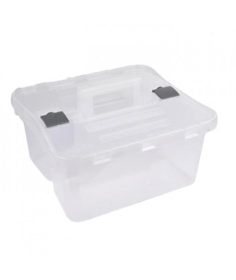 CODICO Boîte de rangement Caddy Box 38x35xh25 cm transparent