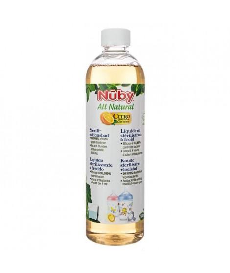 NUBY Citroganix Liquide de Stérilisation sans Rincage 500 ml