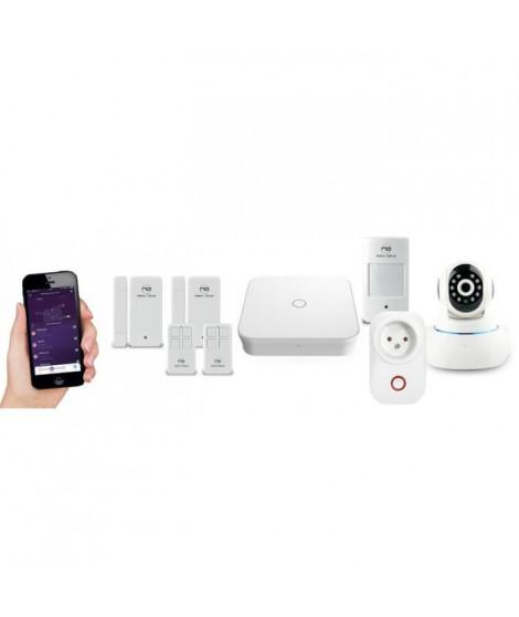 NEW DEAL Pack Alarme maison Live Pro-L15 Domovision sans fil connectée