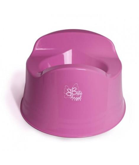 BEBEANGEL Pot confort avec 3 patins anti-dérapants Coloris Rose