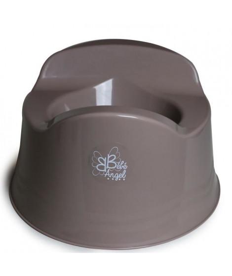 BEBEANGEL Pot confort avec 3 patins anti-dérapants Coloris Taupe