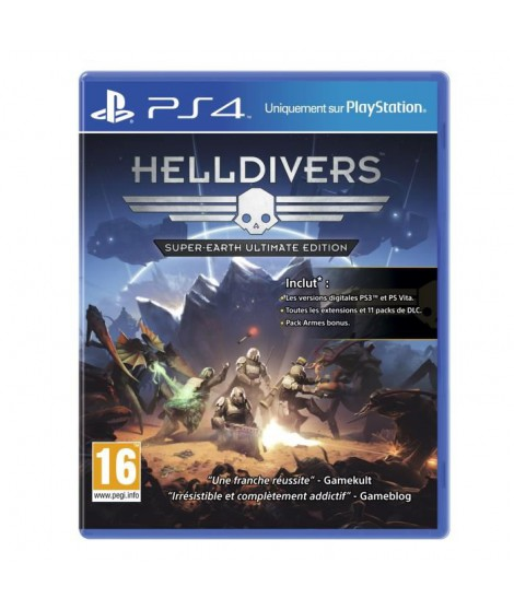 Helldivers : Super-Earth Ultimate Edition PS4