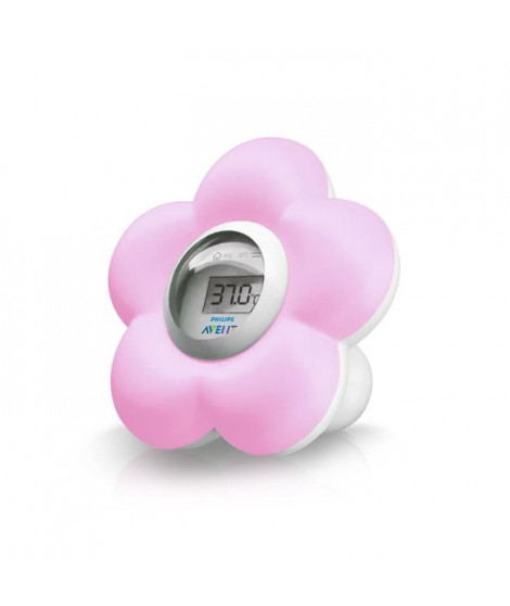 PHILIPS AVENT Thermometre de Bain Rose SCH550/21