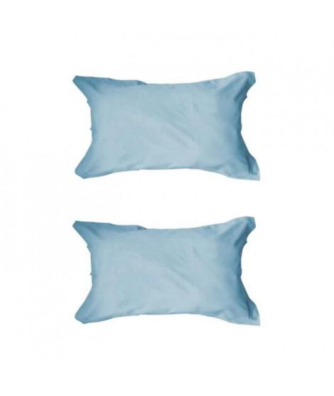 TODAY Lot de 2 taies d'oreiller 50x70cm Portofino Blue