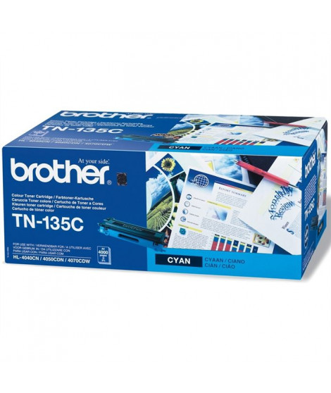 Brother TN-135C Toner Laser Cyan