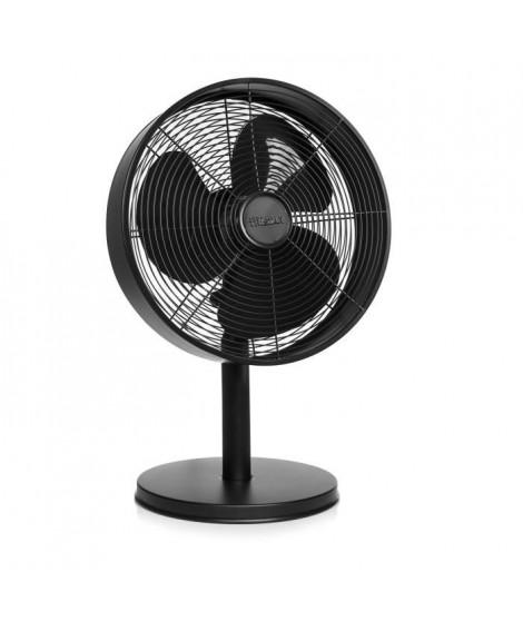 TRISTAR Ventilateur de bureau en métal Ø30 cm noir