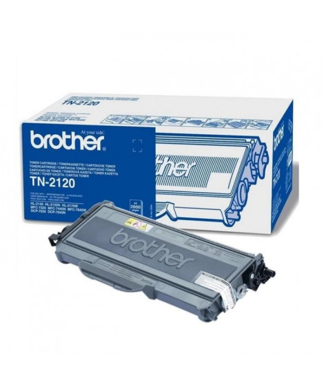 Brother TN-2120 Toner Laser Noir (2600 pages)
