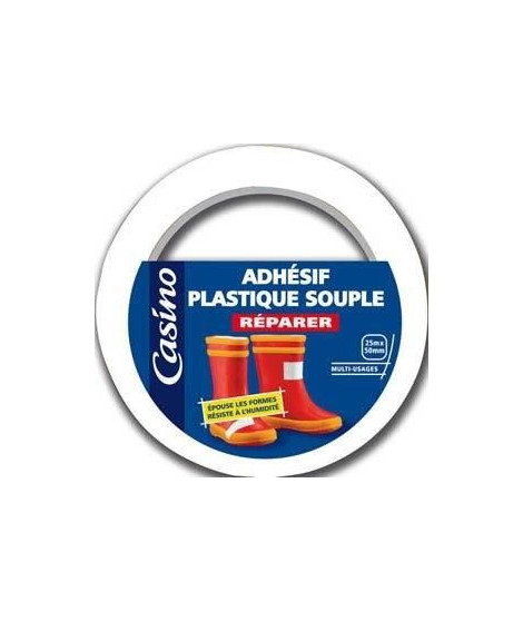 Pvc Adhesif 25Mx50Mm Blanc Co