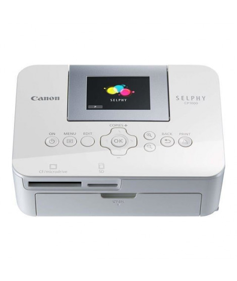CANON Imprimante SELPHY CP1000 Blanche