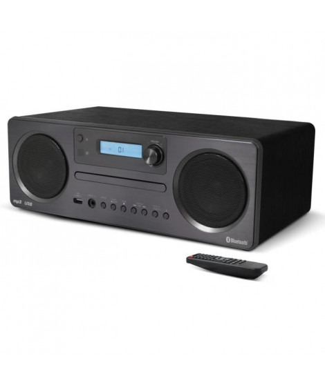 SCHNEIDER-SC600MCCD MICROCHAINE CD MP3 BLUETOOTH AVEC USB
