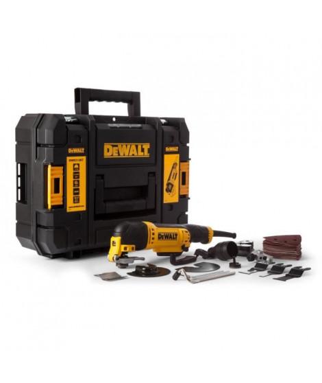 DEWALT Outil multifonctions DWE315KT 300 W, mallette Tstak avec 32 accessoires