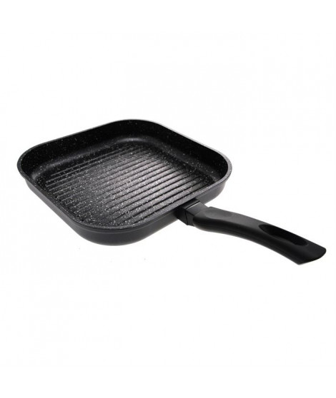 SITRAM Grill 28x28 cm fonte d'alu pierre induction