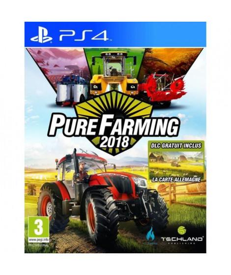 Pure Farming 2018: Day One Edition Jeu PS4 + 2 bonus de précommande
