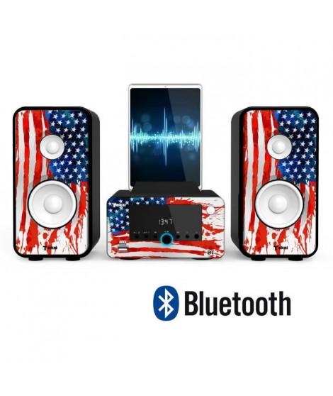 TOKAI WO 243 Micro-chaîne HiFi Bluetooth - Station d'accueil - UNITED STATES