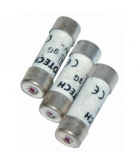VOLTMAN 3 Fusibles a voyant - 10,3 x 31,5 mm - 16 A