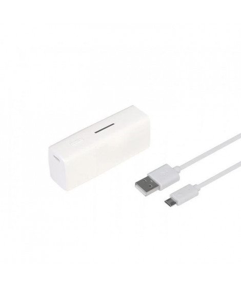 NeoXeo Power Bank 2400 mAh Blanc