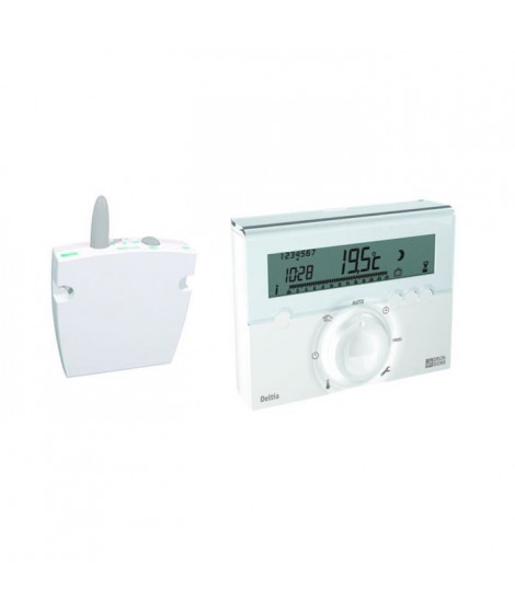 DELTA DORE Thermostat Deltia 8.03 programmable radio