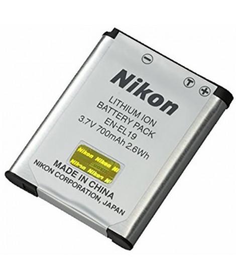 NIKON Batterie EN-EL19 pour W100 / A300 / A100 / S3300 / S2600