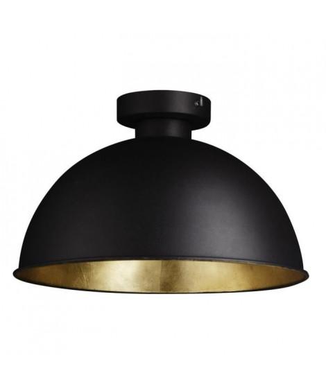 Plafonnier en métal 100x25 cm E27 60 W noir