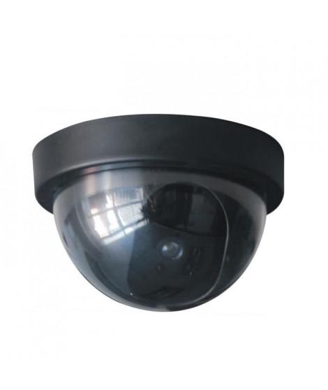 CHACON Caméra de surveillance factice dôme avec Led