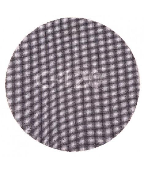 WOLFCRAFT Lot de 5 Disques maille SiC auto-aggripants G120 - Ø 225 mm