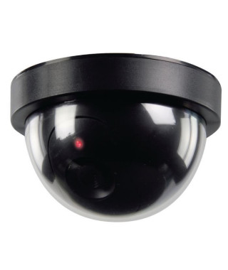KONIG Caméra de surveillance dôme factice noir