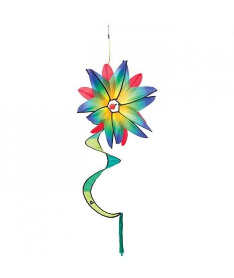 HQ INVENTO Moulin a vent fleur - Flower Swinging - Bleu gradient
