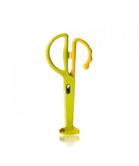 KIDSME Ciseaux alimentaires - Vert Citron
