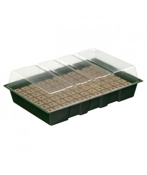 NATURE Mini-serre de culture hydroponique 7 X 11 alvéoles