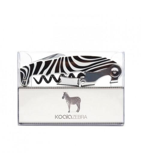 Tire-bouchon sommelier émotion zebre