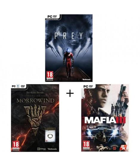 Pack Prey + The Elder Scrolls Online: Morrowind + Mafia III Jeux PC