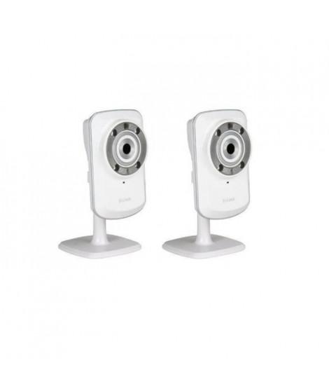 Dlink Pack de 2 caméras IP sans fil DCS-932L