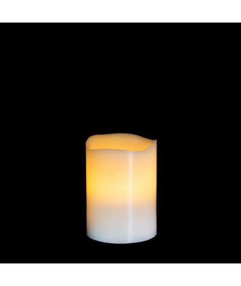 MICA DECORATIONS Lot de 4 bougies déco - Blanc