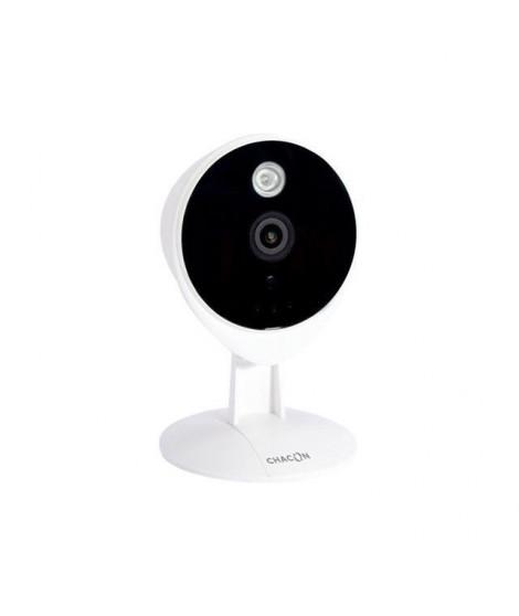 CHACON Caméra de surveillance connectée IP Wi-Fi a usage intérieur