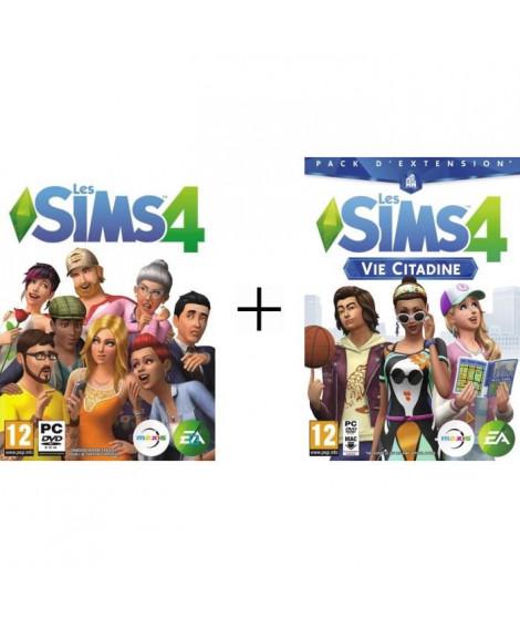 Sims 4 Jeu PC + Sims 4 : Vie Citadine Jeu PC