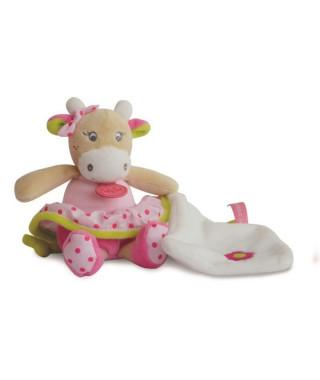 BABY NAT Pantin Petit Modele avec Doudou Coquillette La Vache