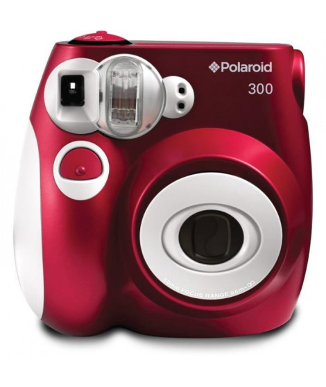 POLAROID PIC300 Rouge Appareil photo instantané compact
