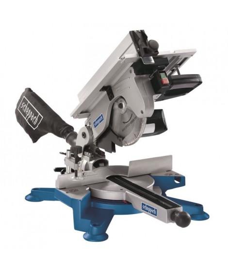 SCHEPPACH scie a onglet pendulaire 254 mm 1800 W avec table supérieure HM100T