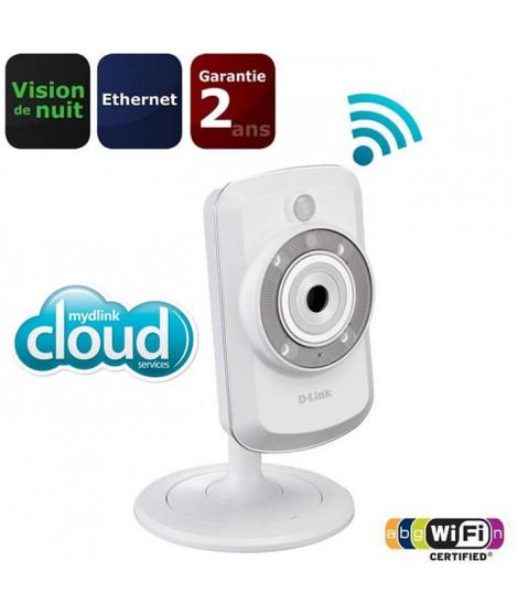 D-Link Caméra IP WiFi Cloud avec vision de nuit x1