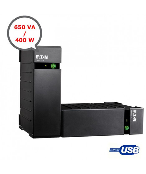 Eaton onduleur Ellipse Eco 650VA USB