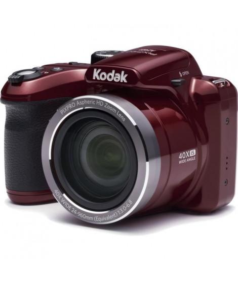 KODAK AZ401 ASTRO ZOOM Appareil photo numérique Bridge - 16 Megapixels - Zoom optique 40x - Rouge