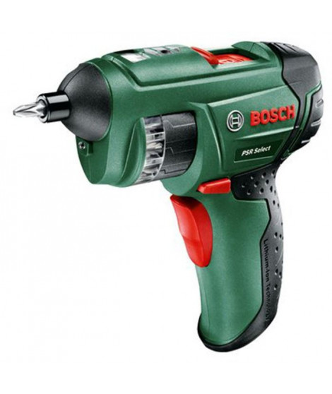 BOSCH Visseuse PSR SELECT 3,6 V Li-ion