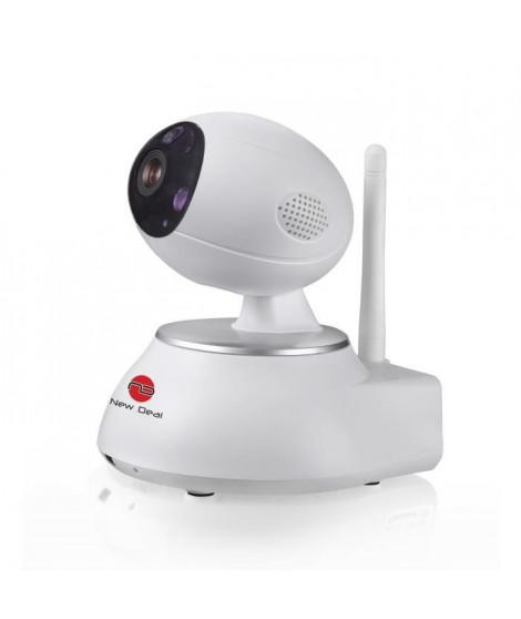 NEW DEAL Caméra de surveillance IP motorisée connectée NDS-PT100W ECO