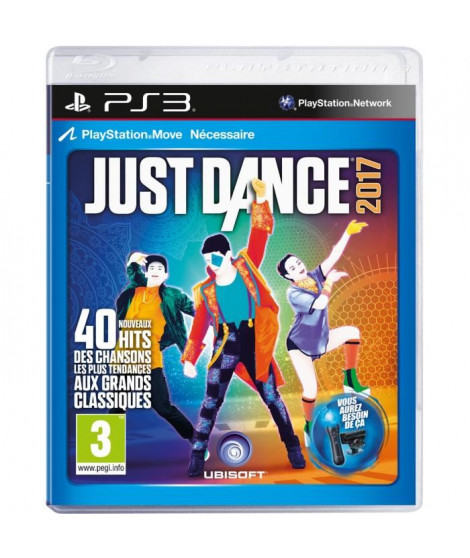Just Dance 2017 Jeu PS3