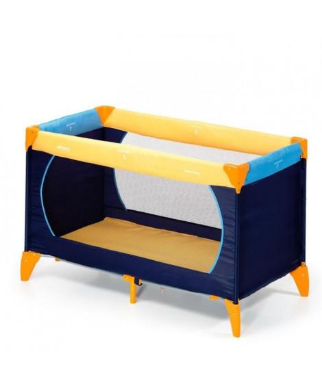 HAUCK Lit parapluie Dream N Play - jaune/ bleu marine