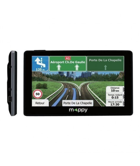 MAPPY Ulti E538 S GPS Europe Light Slim 5 Pouces Cartes a Vie