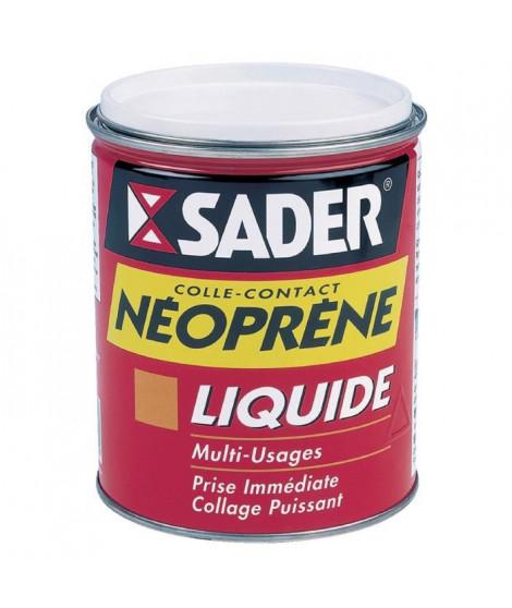 SADER Boîte en métal colle contact liquide néoprene - 750 ml