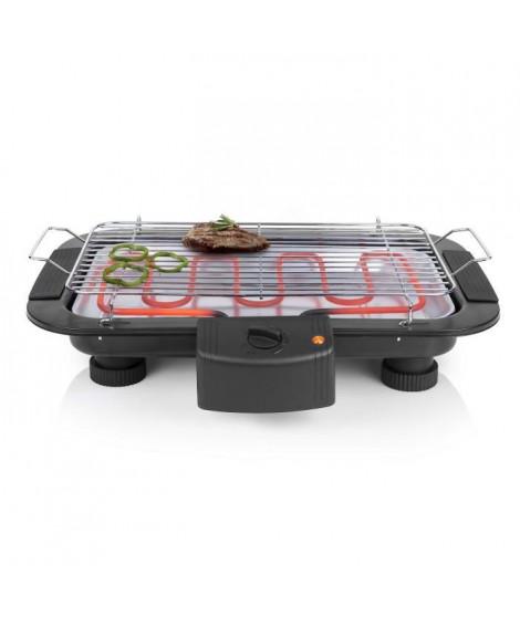 TRISTAR BQ2813 Barbecue électrique de table ? 2000W ? 38 x 22 cm ? Noir