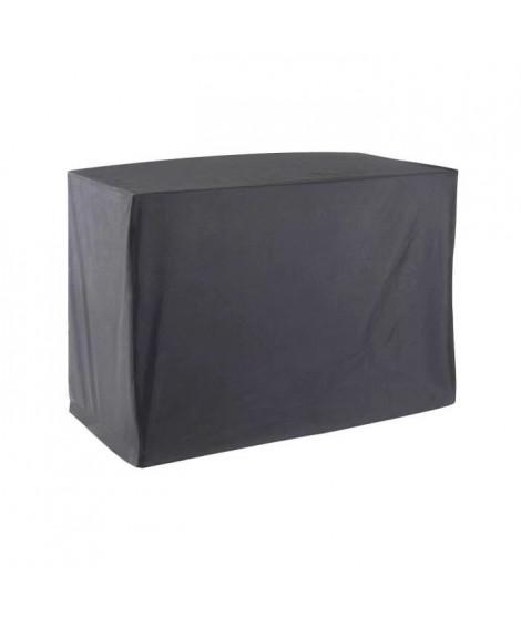 GREEN CLUB Housse de protection chariot pour plancha - 118x57x87 cm - Gris
